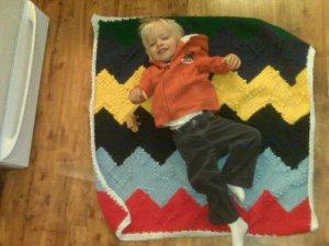 Evan's blanket