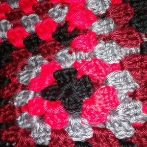 Liz brad blanket close up